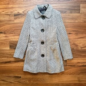 Last Kiss women big buttons top coat